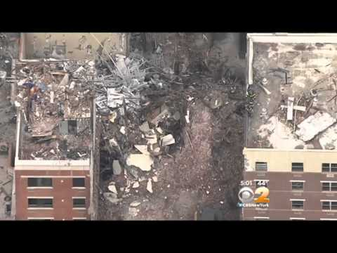CBS 2 Exclusive: Surveillance Video Shines New Light On East Harlem Explosion