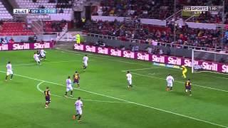 Sevilla vs FC Barcelona - Full Match 9.02.2013 La Liga | 1st half