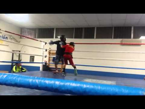 Junior sparring in mexicali