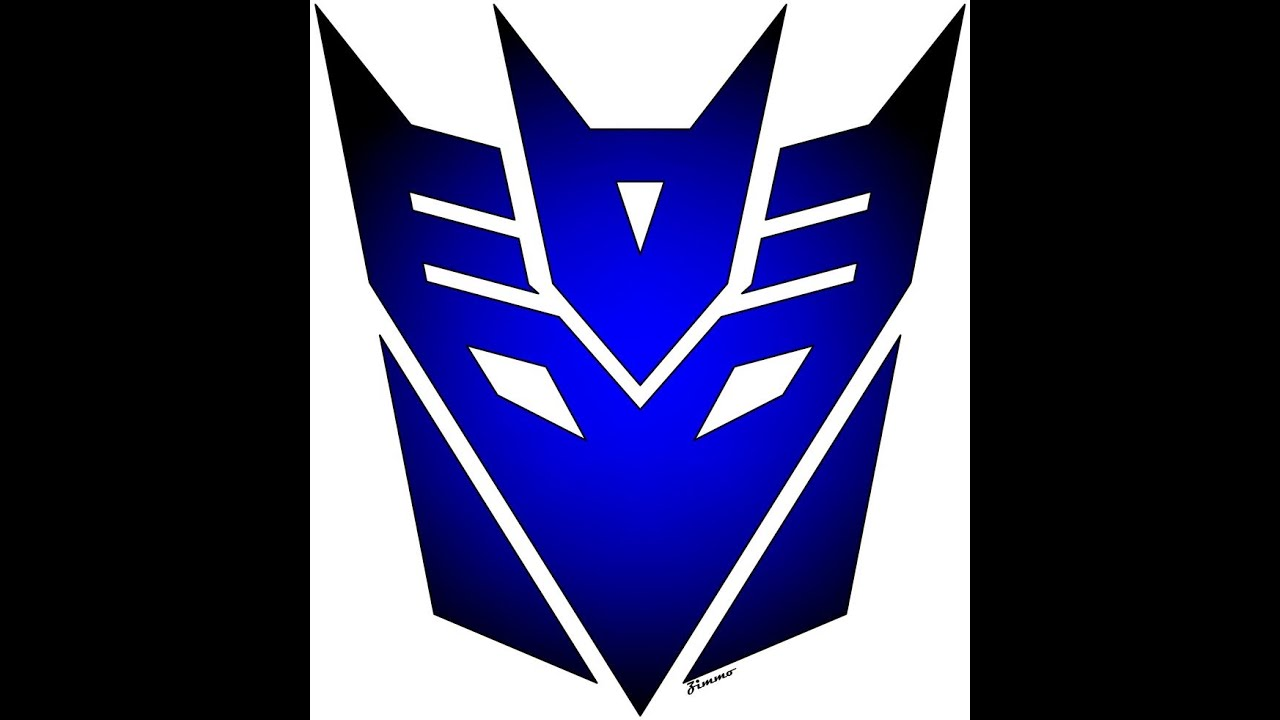 Vector Of the world Autobot Transformers logo  Use as a