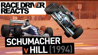 Did Schumacher Cheat? Race Driver Reacts to Schumi v Hill '94