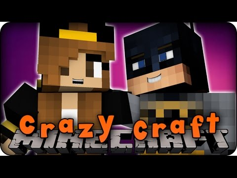 Minecraft Mods - CRAZY CRAFT 2.0 - Ep # 101 'BATGIRL!' (Superhero / Orespawn Mod)