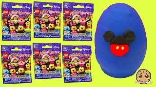 20 Disney Movie Characters Lego Minifigures Surprise Blind Bags Playdoh Egg Video
