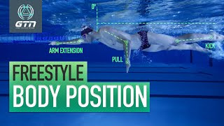 How To Correct Your Swimming Body Position | Technique For Freestyle Swimming
