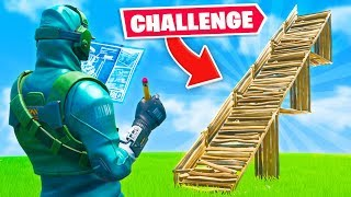 HALF BUILDS ONLY Challenge In Fortnite!