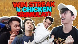 4 CHICKEN DINNER WITH TEAM SRIMULAT - PUBG MOBILE INDONESIA