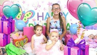 Baby Birthday Present Haul With Reborns