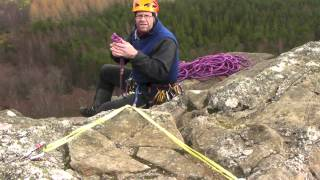 Glenmore Lodge - Making an Abseil.mov