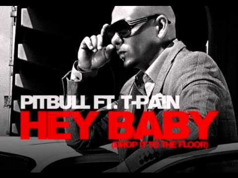 Pitbull Feat T-pain Hey Baby (drop To The Floor) [lyrics Official Video ] video