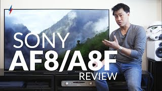 Sony AF8/A8F OLED TV | Trusted Reviews
