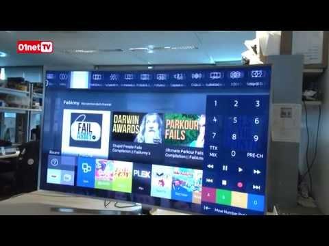 Déballage de la plus belle TV incurvée Samsung (JS9500 9 Curved SUHD 65