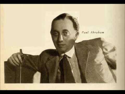 Paul Abraham dirigiert die Highlights aus Ball im Savoy (1932/33)