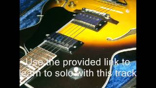 Swing Shuffle 12 Bar Blues Backing Track Key E Original BIB EricBlackmonMusic HQ