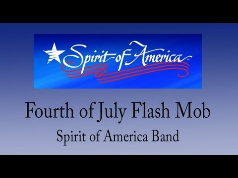 Flash Mob at Cape Cod Stop and Shop - Spirit of America