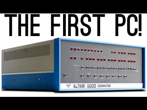 The Story of the First PC [Started Microsoft & Apple!]