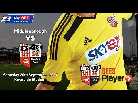 Video: Match highlights from Boro against Brentford