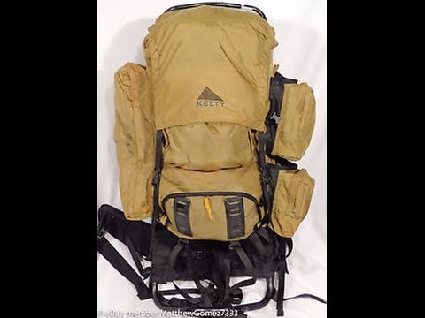 Budget Friendly Backpack Option - Kelty External Frame