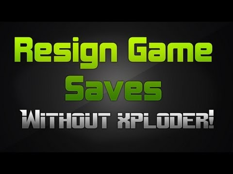 [PS3] How to Resign Game Saves without Xploder | Voice Tutorial [FREE]