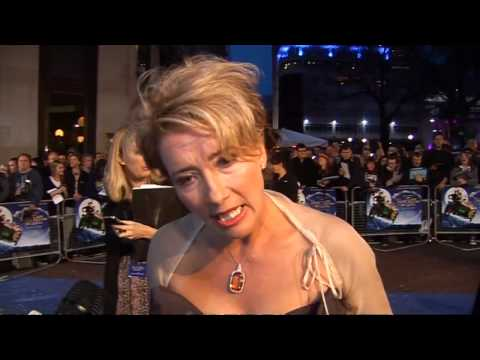 Emma Thompson unveils Nanny McPhee 2 in London