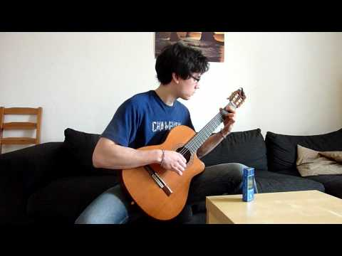 The Sound of Silence (Simon and Garfunkel) - guitar tabs in the end