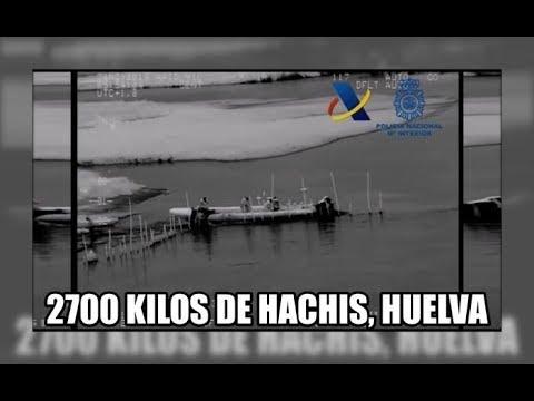 2700 kilos de hachis en Ayamonte, Huelva - Aduanas SVA