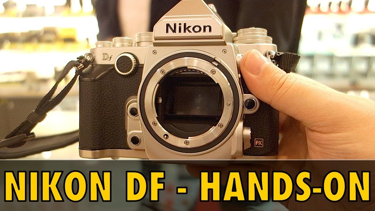 Nikon DF Hands-on Review - Does it suck?