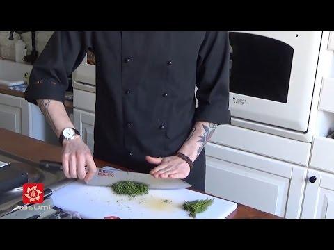 Мастер-класс по нарезке продуктов японскими кухонными ножами