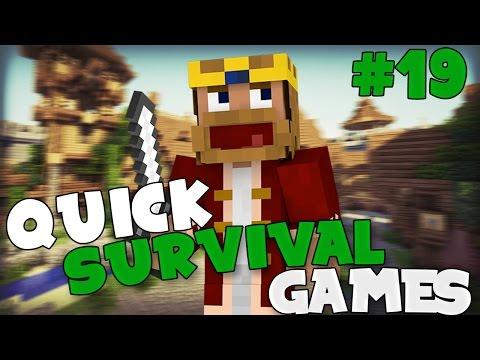 NEUES TEXTUREPACK! KFC-NOOPÜ! - Minecraft PvP: Quick Survival Games #019