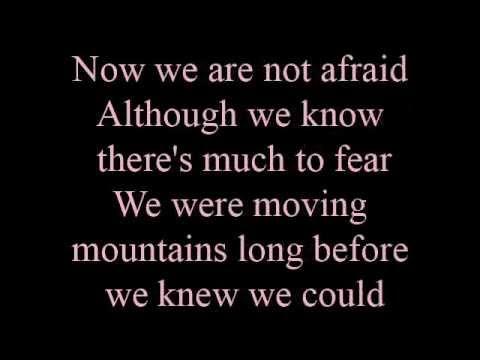 When you believe - lyrics