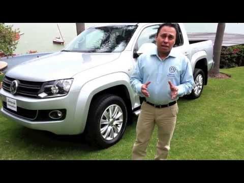 Vision Automotriz Volkswagen Amarok 2.0 TDI con transmision automatica de 8 velocidades en Mexico
