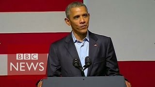 Barack Obama's words of advice for Kanye West - BBC News