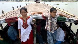 SMAR Rony Journey by boat Narsingdi 2010Anis Bhai's Village1
