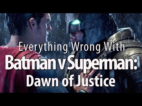 Everything Wrong With Batman v Superman: Dawn of Justice thumbnail