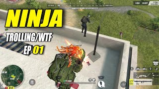 Rules Of Survival MONTAGE! ( Funny Moments & Ninja Trolling ) EP. 01