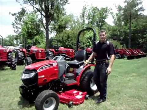 Mahindra Max Mowing Deck Removal and Assembly