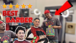Getting a haircut by the best reviewed barber in the world(360 Jeezy) 💈🙏🏽🔥
