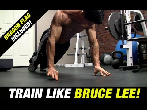 Bruce Lee Workout (includes Dragon Flag!) video
