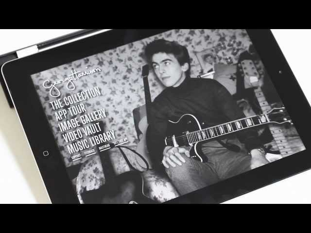 George Harrison: The Guitar Collection - iPad app