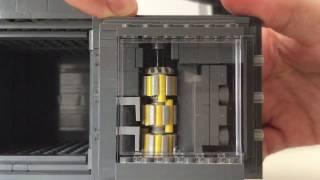 Lego safe with tiny combination lock