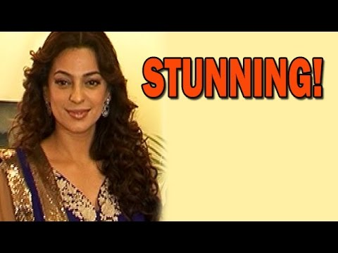 Juhi Chawla looking gorgeous at an event! | Bollywood News