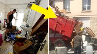 Furious Landlord Collects Mess Left By Rude Tenants And Gets The Last Laugh