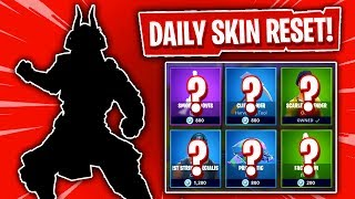 NEW SKINS ARE HERE! Fortnite Item Shop! Daily & Featured Items! (Skin Reset #282)