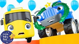 Go Buster | Racing Buster | BRAND NEW! | Baby Songs | Kids Cartoon | Little Baby Bum