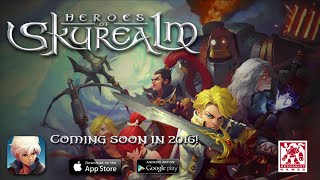 Official Heroes of Skyrealm Prerelease Gameplay Trailer - iOS / Android (by Mechanist Games)