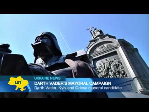 Darth Vader Stars in Ukrainian Election Campaign: Internet Party of Ukraine opts for Star Wars theme