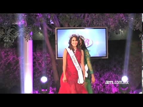 Maggi Jiménez, gana Nuestra Belleza Guanajuato
