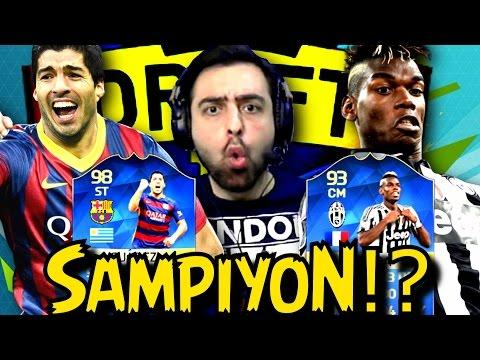 Sampiyon ?! ● Yarim olan Challenge | Fifa 16 FUT Draft Survivor | Ps4