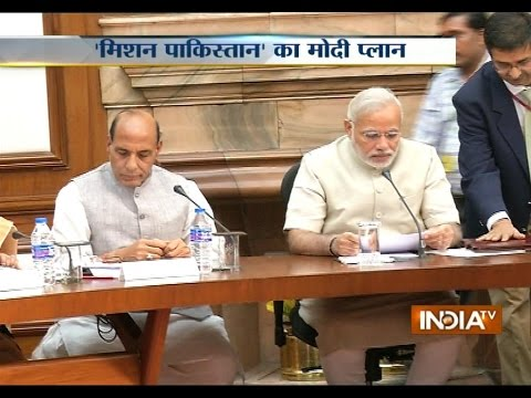 PM Modi meets cabinet ministers to discuss Cease Fire violation by Pakistan
