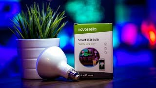 Philips Hue & LIFX KILLER??? - Affordable Smart Bulbs  |  Novostella Wifi Smart LED Bulb Review