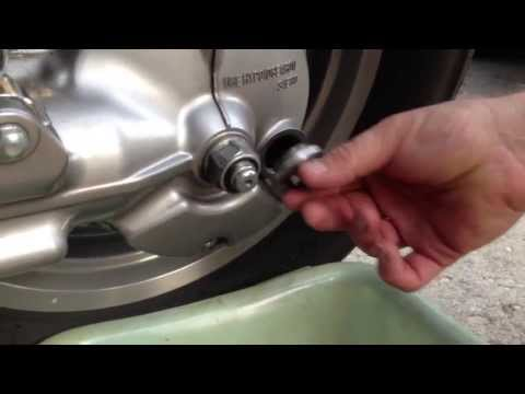 Honda Goldwing Gl1800 Final Drive Oil Change How To Save